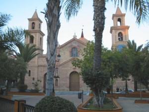 Torrevieja church maculada