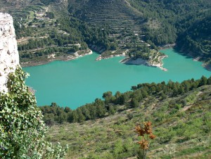 view from Guadalest