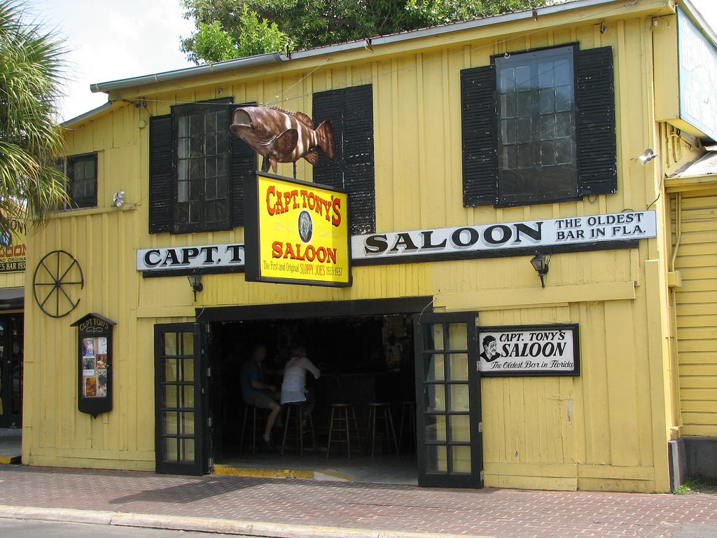 Capt. Tonys Saloon at Key West Florida